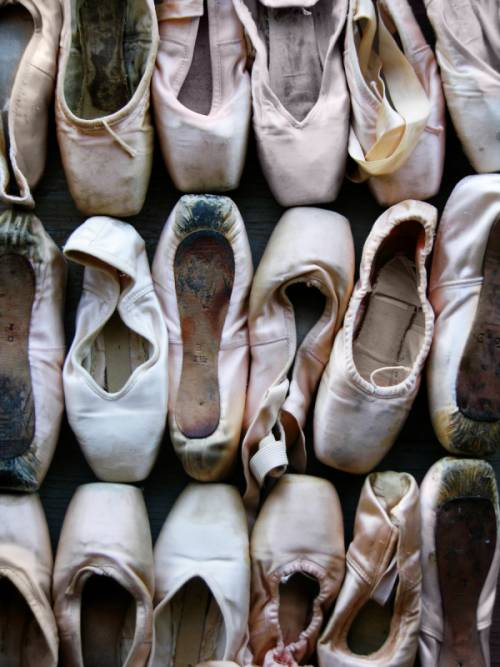 worn out ballet shoes photography style guru fashion