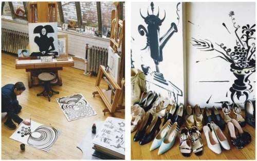 Toledo shoes paint
