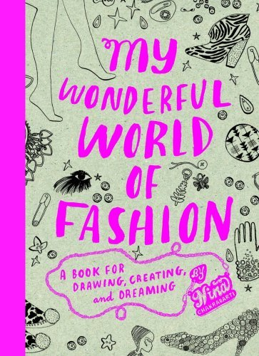 Coloring Book For Fashion : Thought patterns: a fashion coloring book