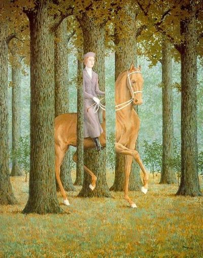 Sb Rene Magritte Carte Blanche (1965)