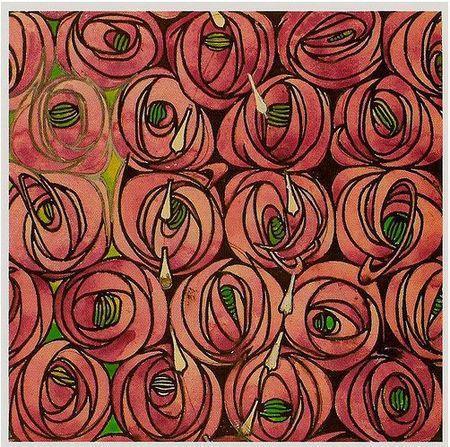 Rose and teardrop