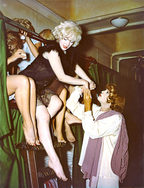 Marilyn Monroe while filming Some Like It Hot, 1959 sb