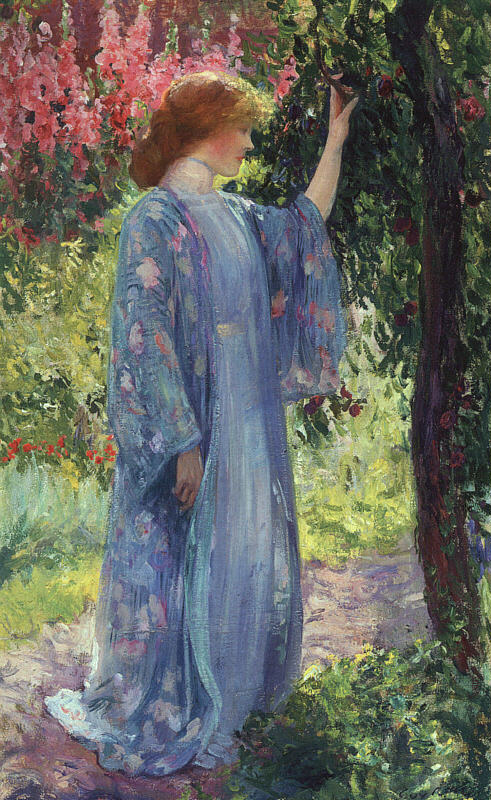 Guy Rose – The Blue Kimono