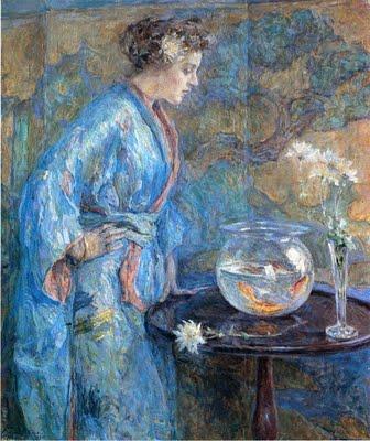 Girl_in_Blue_Kimono_robert_reid