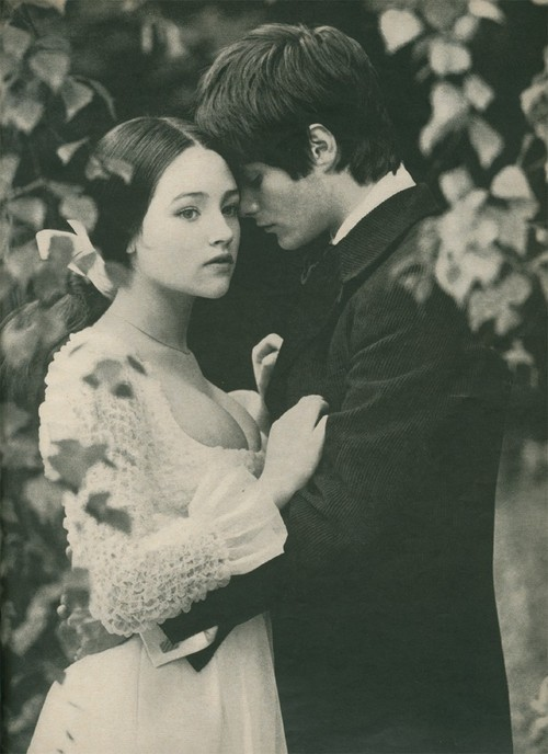 Olivia Hussey (from the 1968 version of Romeo and Juliet) photographed by Norman Parkinson