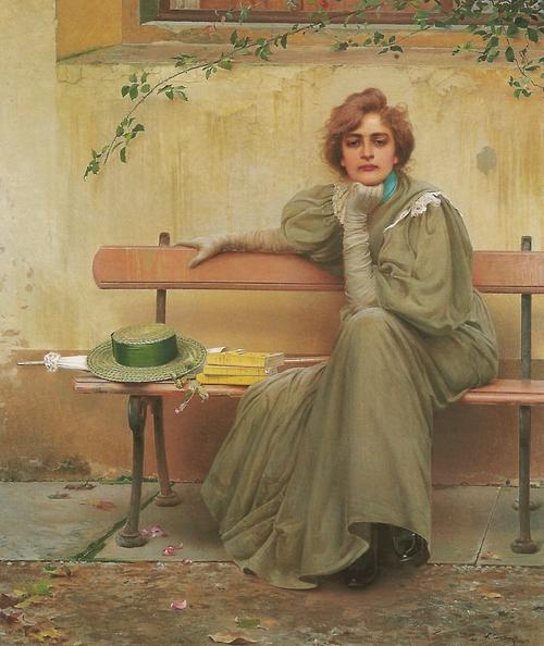 Vittorio Matteo Corcos - Dreams, 1896 victo