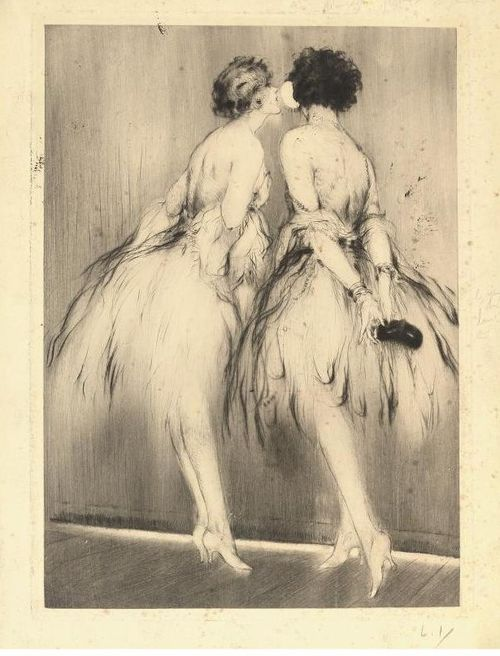LOUIS ICART LITTLE BO PEEP', CIRCA 1927 all things