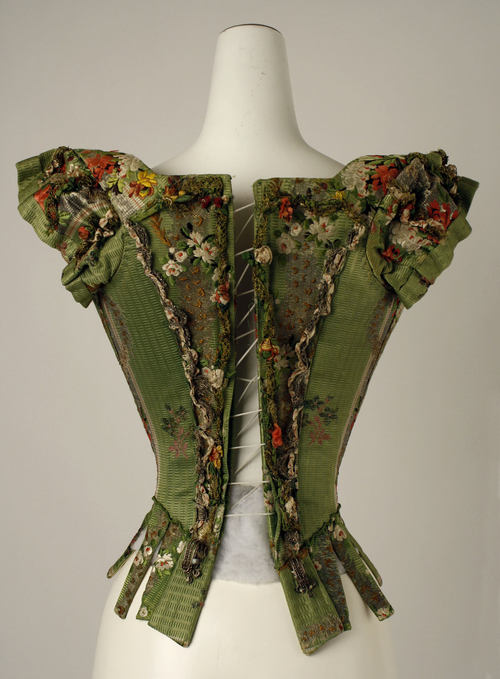 Incredibly preserved bodice from the 18th century.
