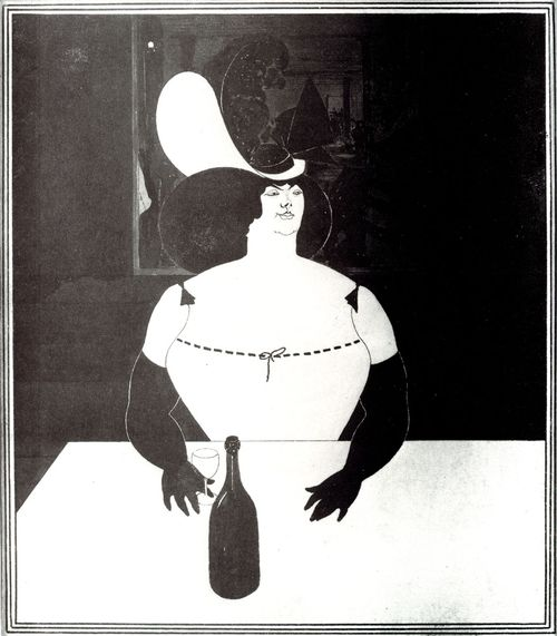 Aubrey Beardsley, The Fat Woman, 1894