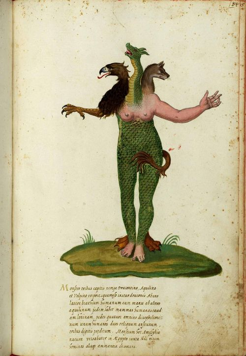 Animal-Monster-Italian-2-Dragonfoxreptilelady