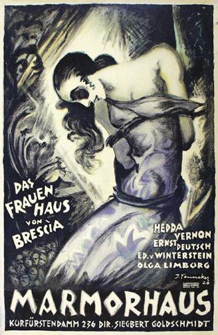 """""""Das Frauenhaus von Brescia"""" (1920) ill by Josef Fenneker"""