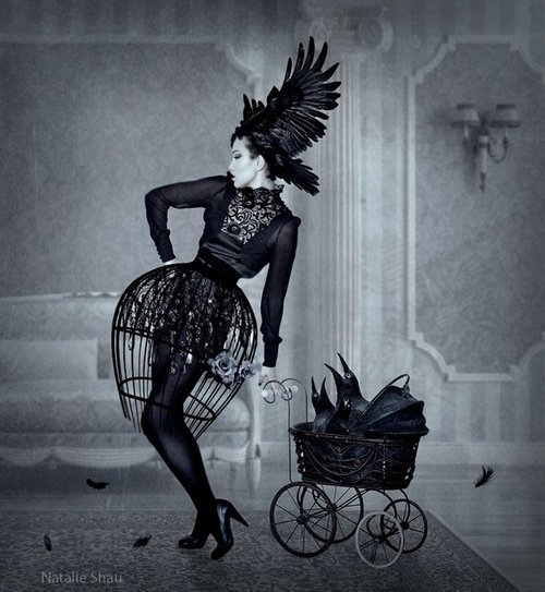 Madre by Natalie Shau inspiration for raven costume