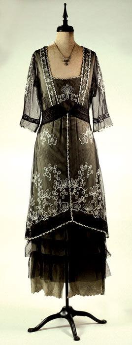 Vintage tea gown
