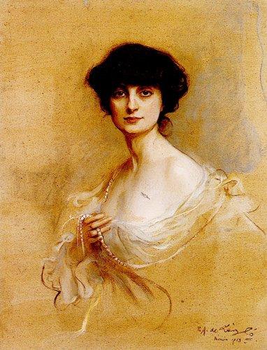 Anna de Noailles - Philip Alexius de László c. 1913