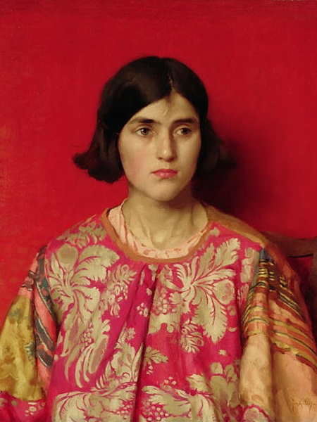 Thomas Cooper Gotch The Exile 1930