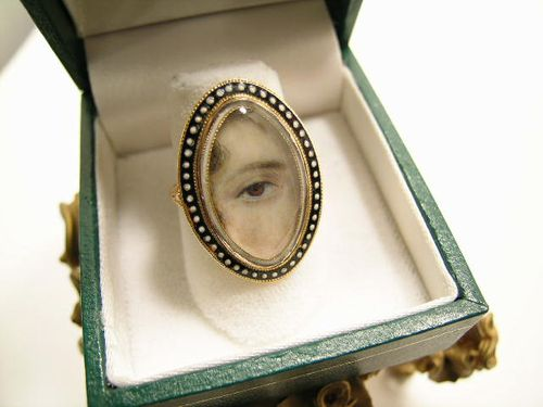 Lovers Eye Ring-Georgian1 Lenore Dailey