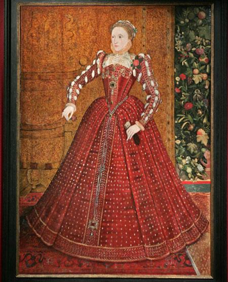 Más color. La reina Isabel de Inglaterra en 1560.