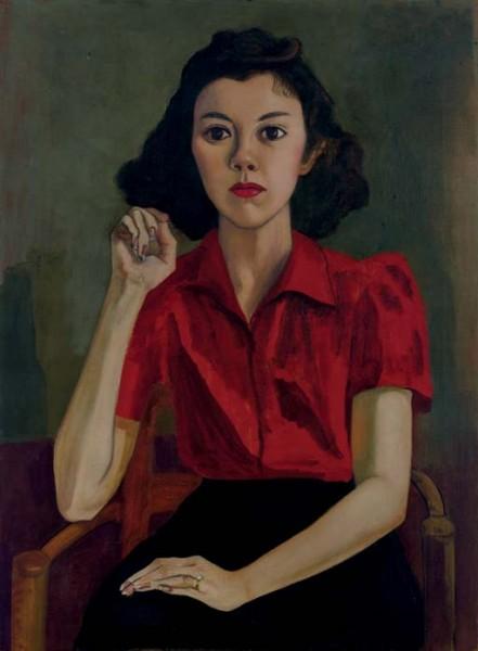 Alice Neel Portrait (Roberta Johnson Roensch), 1943-46