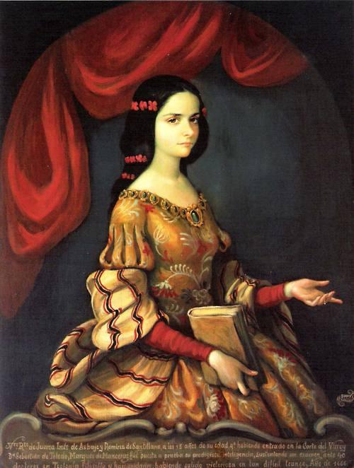 Juana Inés de Asbaje y Ramírez de Santillana, Age 15