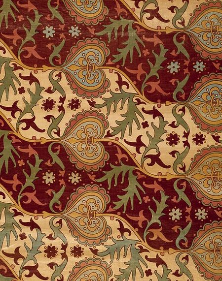 Curtain, England, 1850-51