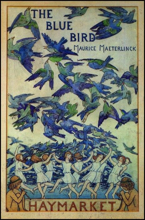 Frederick Cayley Robinson  The Blue Bird 1909