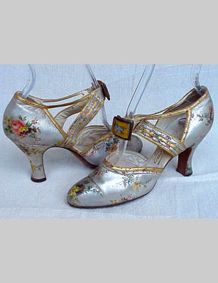 30s_floral_metallic_shoes_1