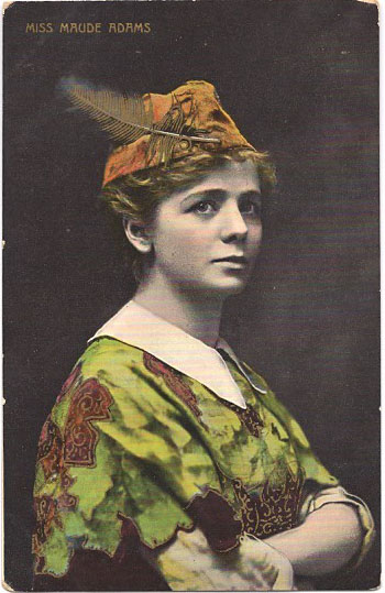 Maude adams as peter pan