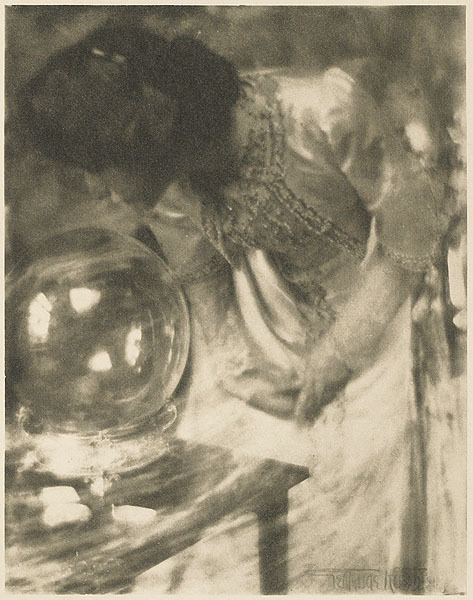 "Gertrude Kasebier - ""The Magic Crystal"" c. 1904"